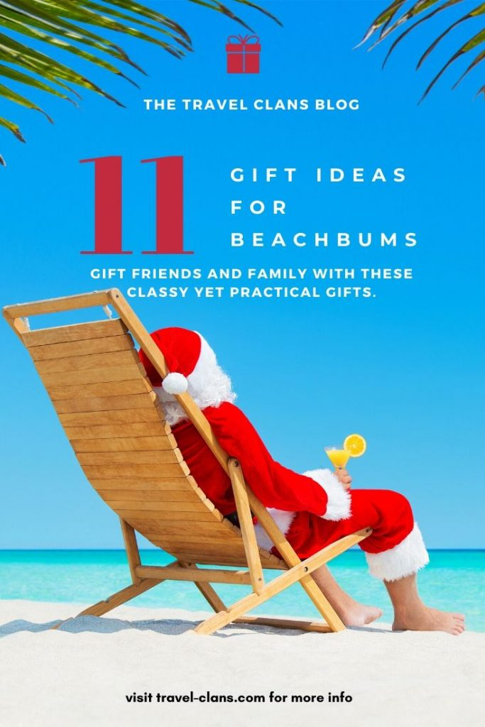 Why you should get 1 of these 11 Best Christmas Gift Ideas for Beachbums  #travelclans #christmas #giftideas #beachbums