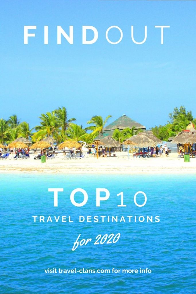 Find out the Top 10 Travel Destinations for 2020 #travelclans #Top10 #TravelDestinations