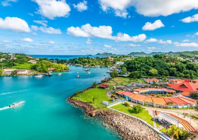 Castries, St Lucia is one of the Top 10 Travel Destinations for 2020 #travelclans #Top10 #TravelDestinations #Castries #StLucia