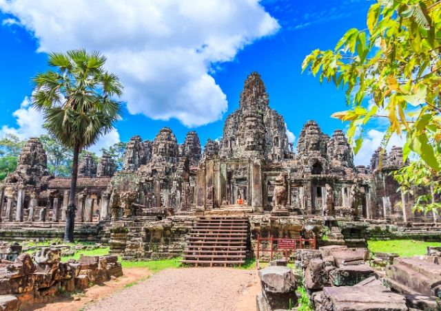 Ancient City of Angkor Wat in Cambodia which is 1 of the Top 20 Budget Travel Destinations in 2020 #travelclans #Cambodia #AngkorWat #BudgetTravel #Travel #Destinations