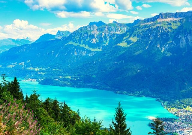 Interlaken, Switzerland is one of the Top 10 Travel Destinations for 2020 #travelclans #Top10 #TravelDestinations #Interlaken #Switzerland