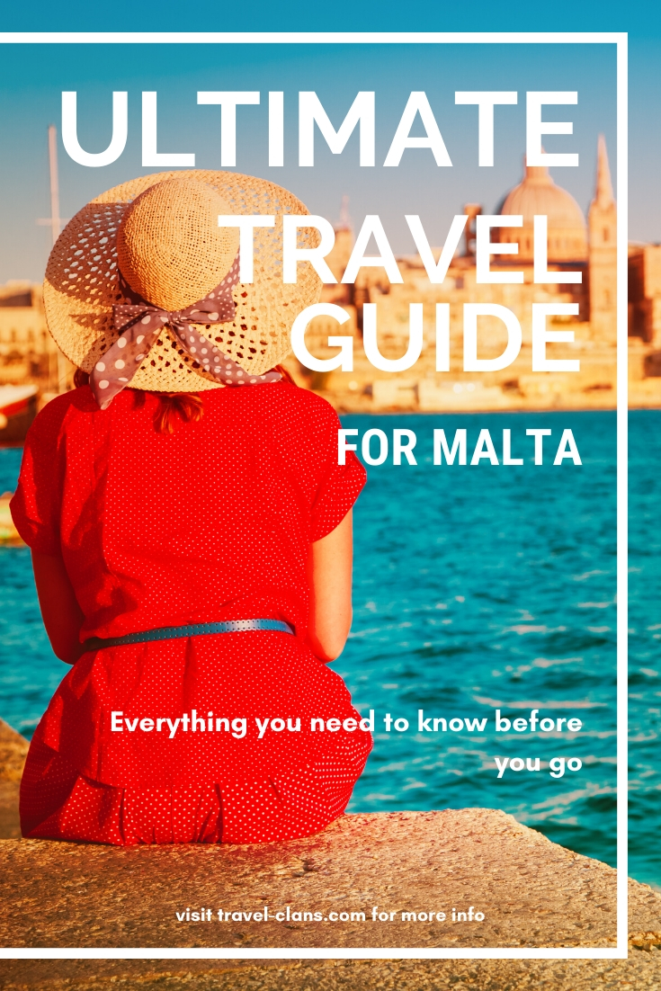 Everything you need to know before you go with our Ultimate Travel Guide For Malta #travelclans #malta #TravelGuide