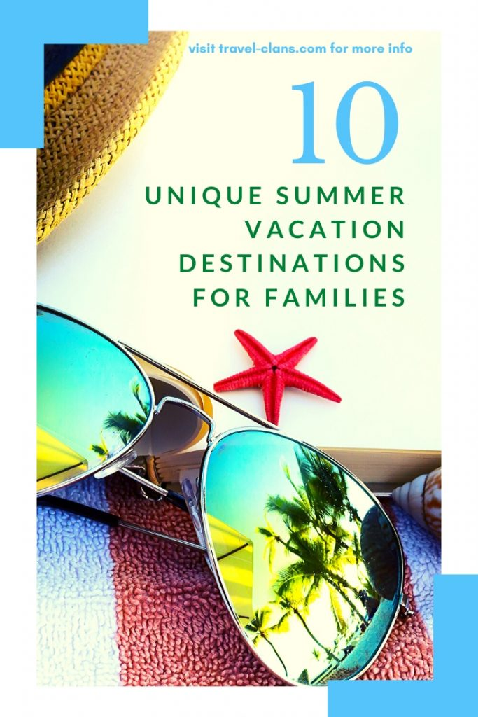 Want to avoid the crowds? Bored of the same beach destinations? Then check out these 10 Unconventional Summer Vacations Destinations for Families in 2020 #travelclans #SummerDestinations #SummerVacations #Summer #Tampa #Oslo #Cardiff #SanMarino #Vaduz #Cali #Mexico #FaroeIslands #Newfoundland #Canada #Colombia #Marseille #France #Wales #USA #Norway