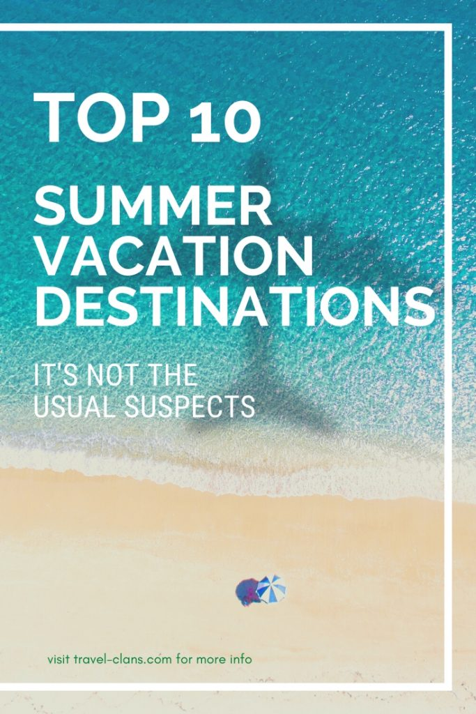 Want to avoid the crowds? Bored of the same beach destinations? Then check out these Top 10 Summer Vacations Destinations for Families in 2020 #travelclans #SummerDestinations #SummerVacations #Summer #Tampa #Oslo #Cardiff #SanMarino #Vaduz #Cali #Mexico #FaroeIslands #Newfoundland #Canada #Colombia #Marseille #France #Wales #USA #Norway