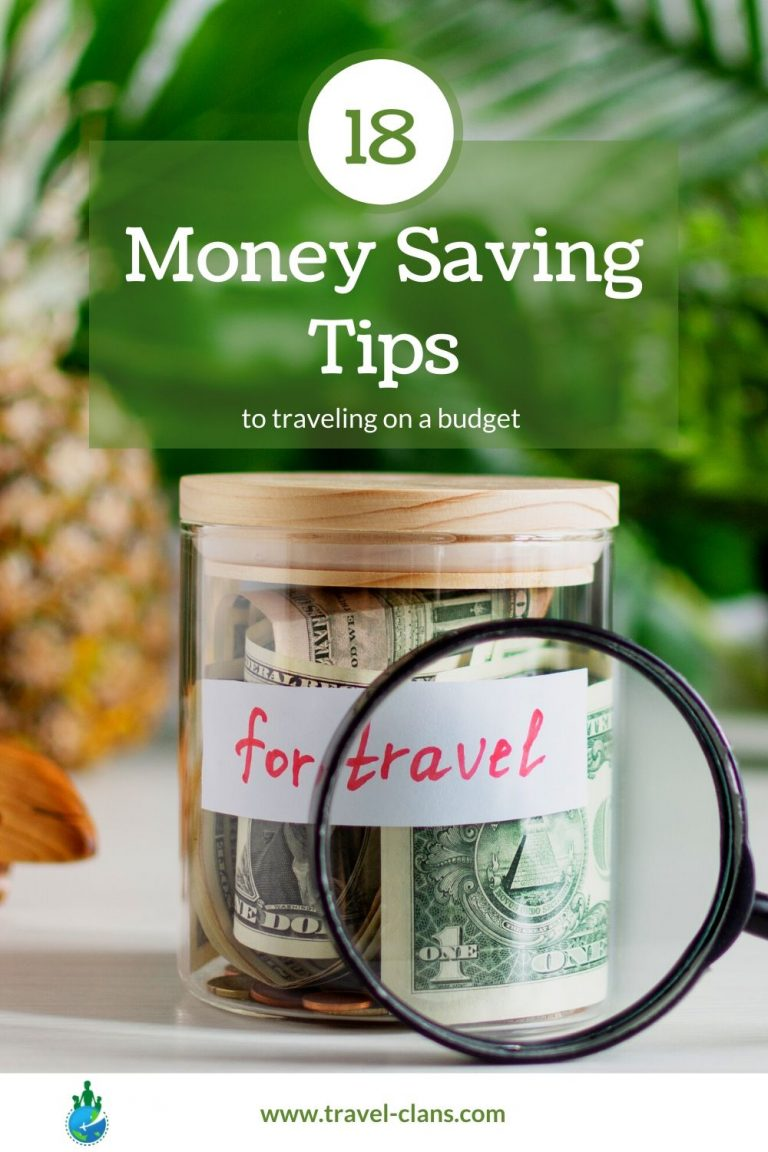 Travel for Cheap using these 18 Brilliant Money Saving Tips during an economic downturn #travelclans #travelforcheap #budgettravel #traveltips #cheaptravel #budget