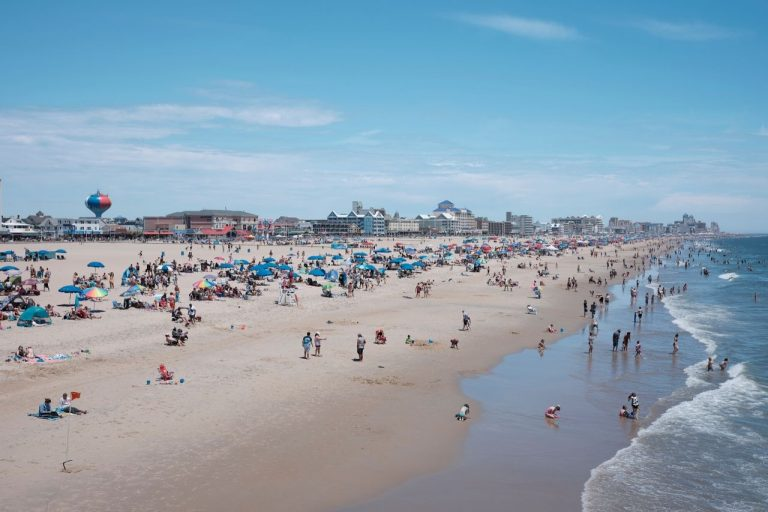 Ocean City Beach, Maryland #travelclans #EastCoast #beaches